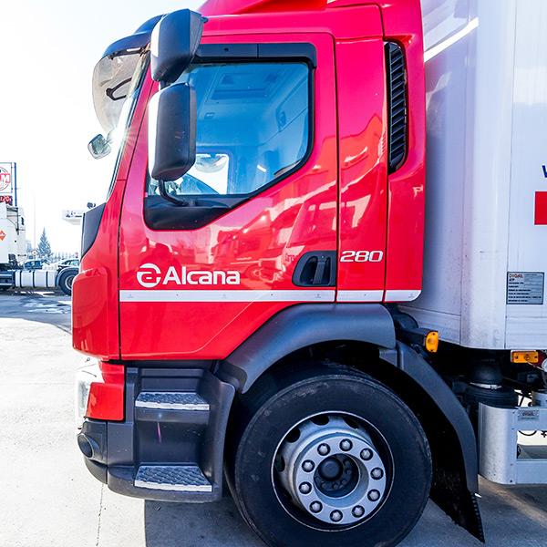 camiones transportes alcana